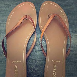 JCrew sandals size 10